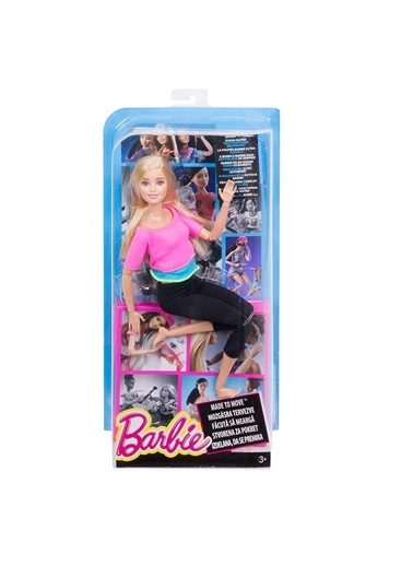 Barbie Sonsuz Hareket Bebeği DHL81-DHL82 Renkli